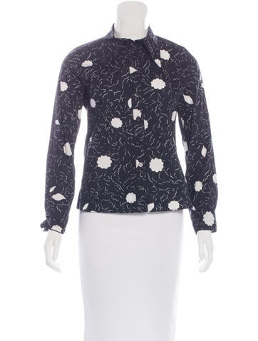Marni Printed Button-Up Top None
