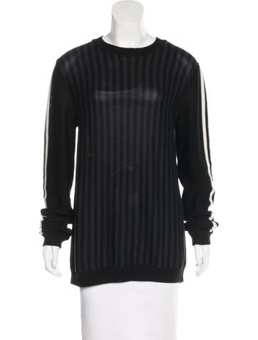 Marni Striped Longline Sweater w/ Tags None