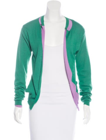 Marni Colorblock Cashmere Cardigan None