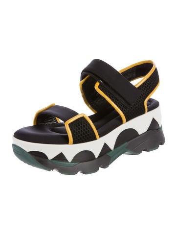 Neoprene Platform Sandals