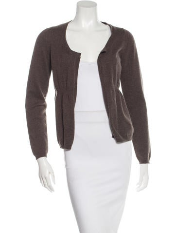 Marni Open Knit Cashmere Cardigan None