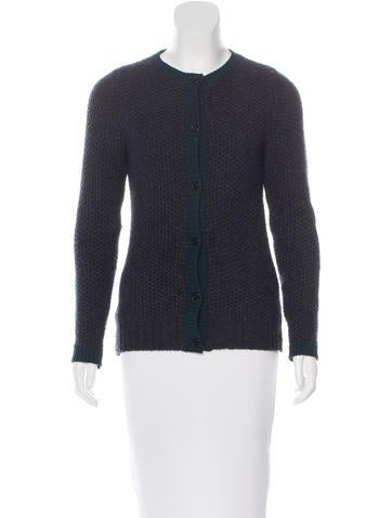 Marni Wool & Cashmere-Blend Cardigan None