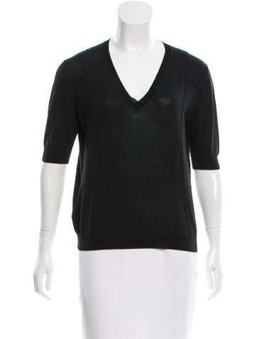 Marni Knit Short Sleeve Top None