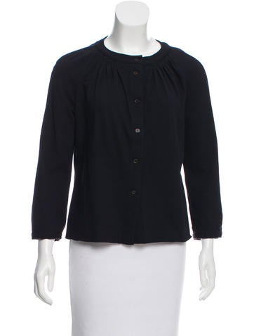 Marni Wool-Blend Button-Up Cardigan
