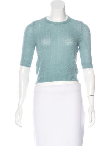 Marni Cashmere Cropped Sweater None