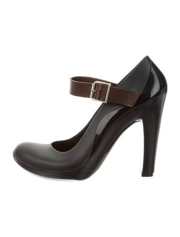 Marni Rubber Mary Jane Pumps