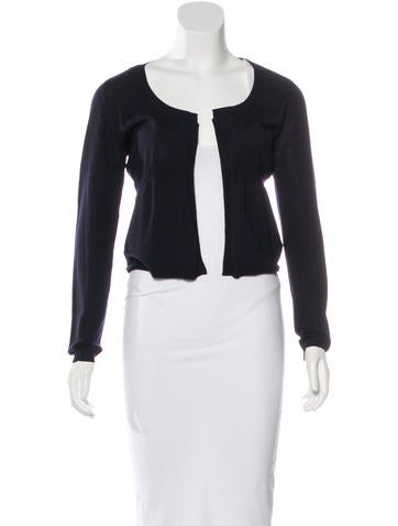 Marni Wool Open Front Cardigan None