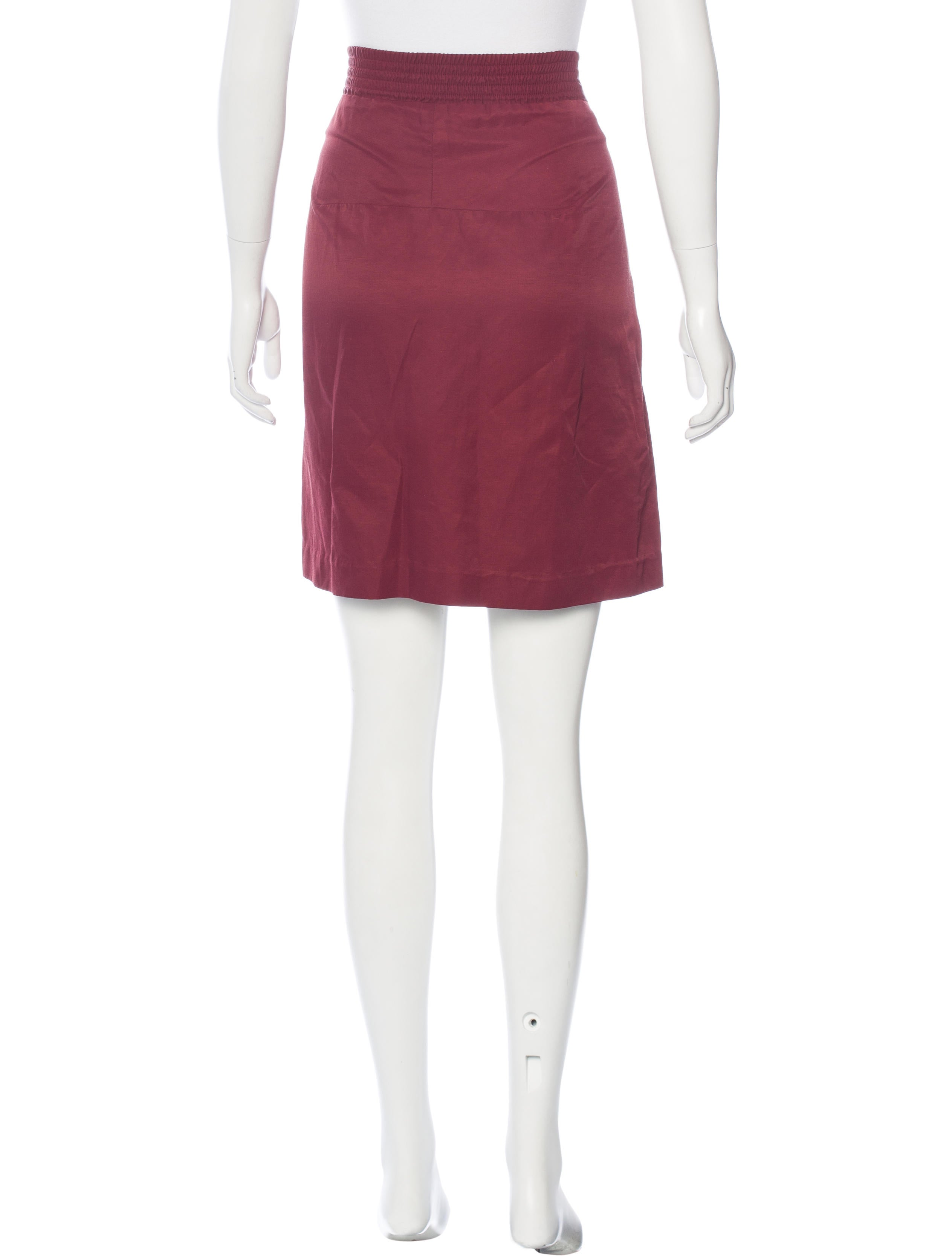 marni knee length pencil skirt clothing man52863 the