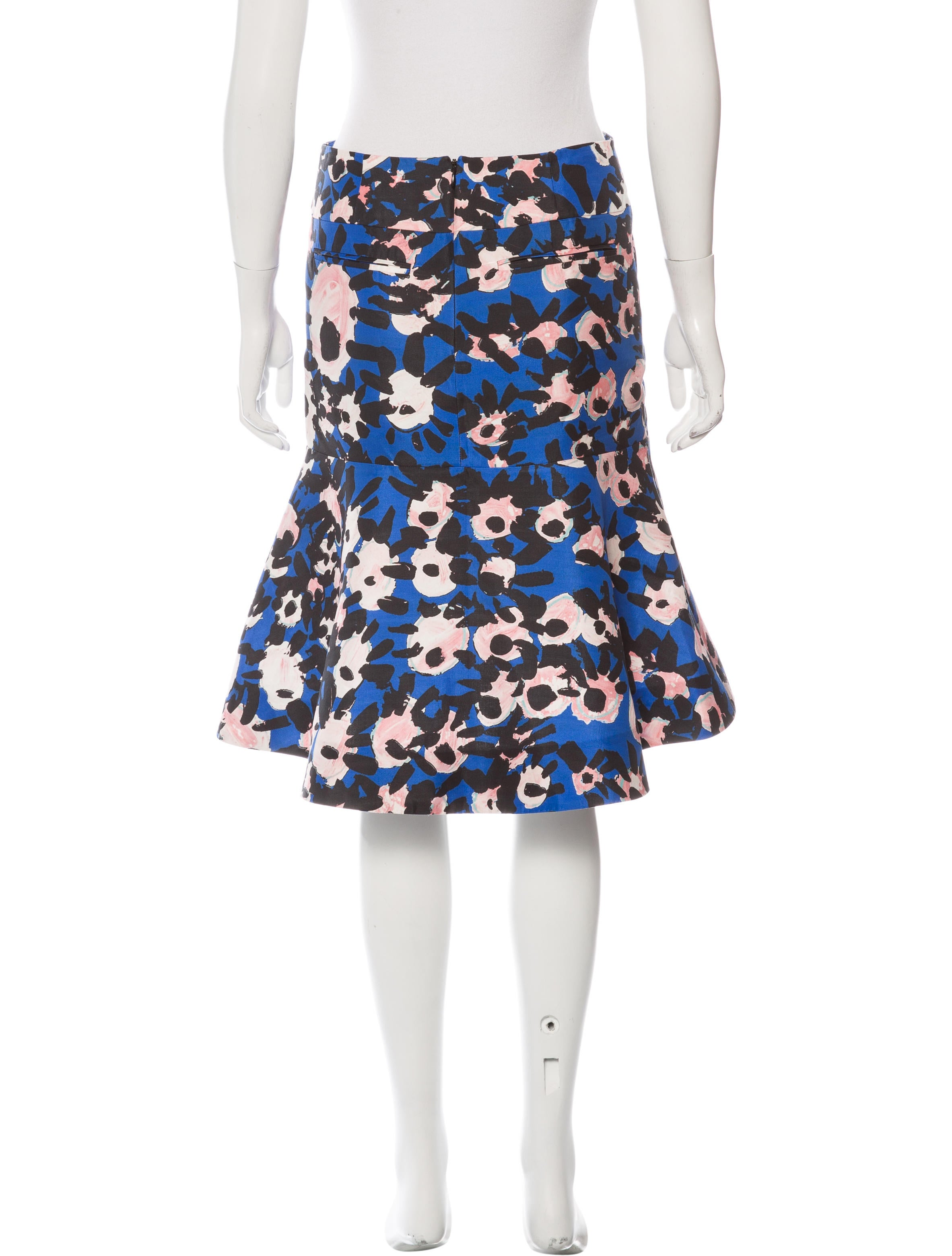 marni floral a line skirt clothing man52865 the realreal
