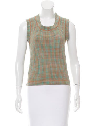 Marni Patterned Sleeveless Top None