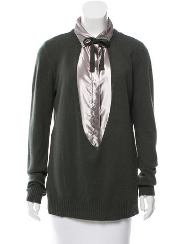 Marni Layered Cashmere Sweater None