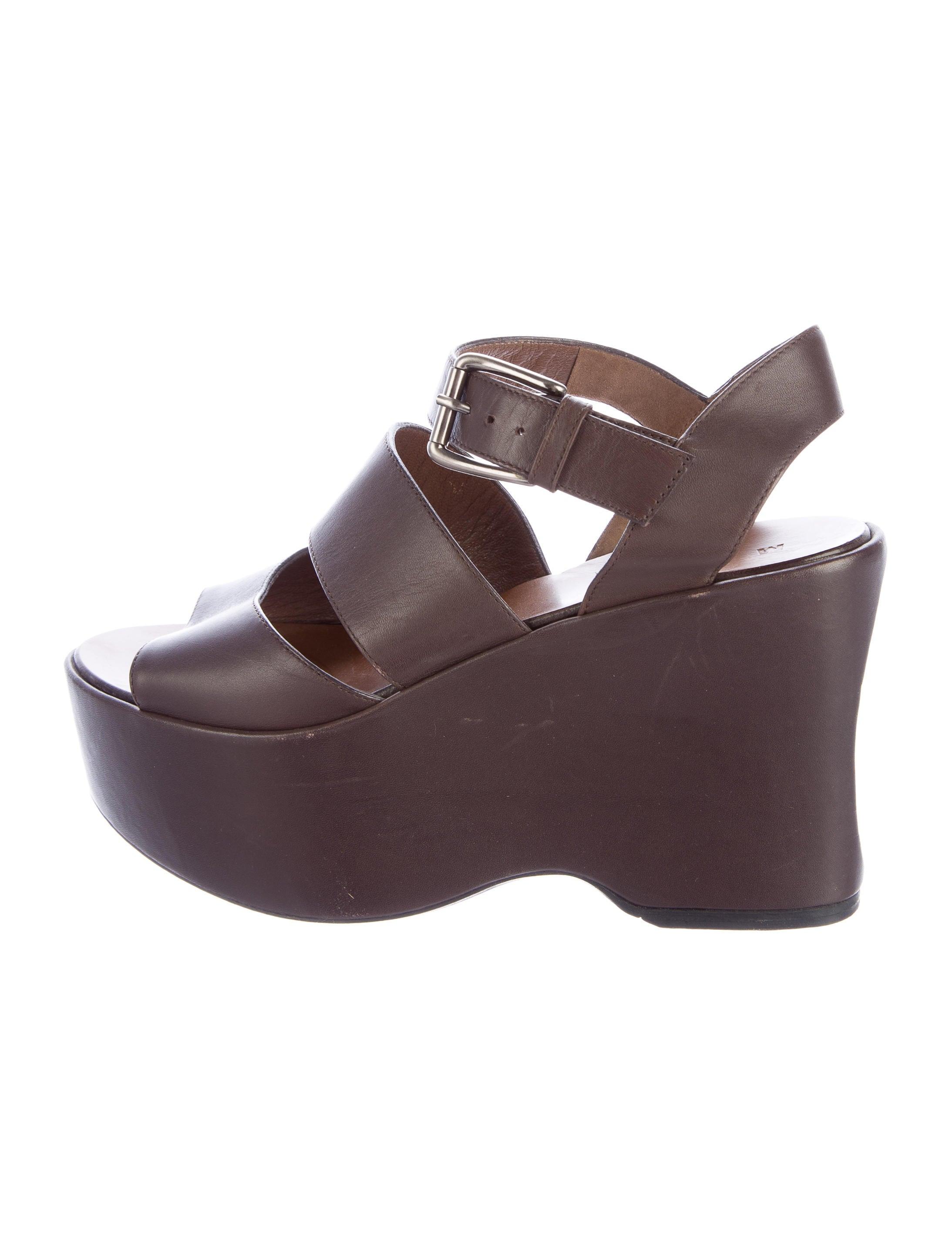 marni leather platform sandals shoes man53281 the