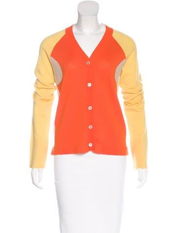 Marni Virgin Wool Colorblock Cardigan None