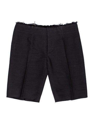 Marni Silk Bermuda Shorts None
