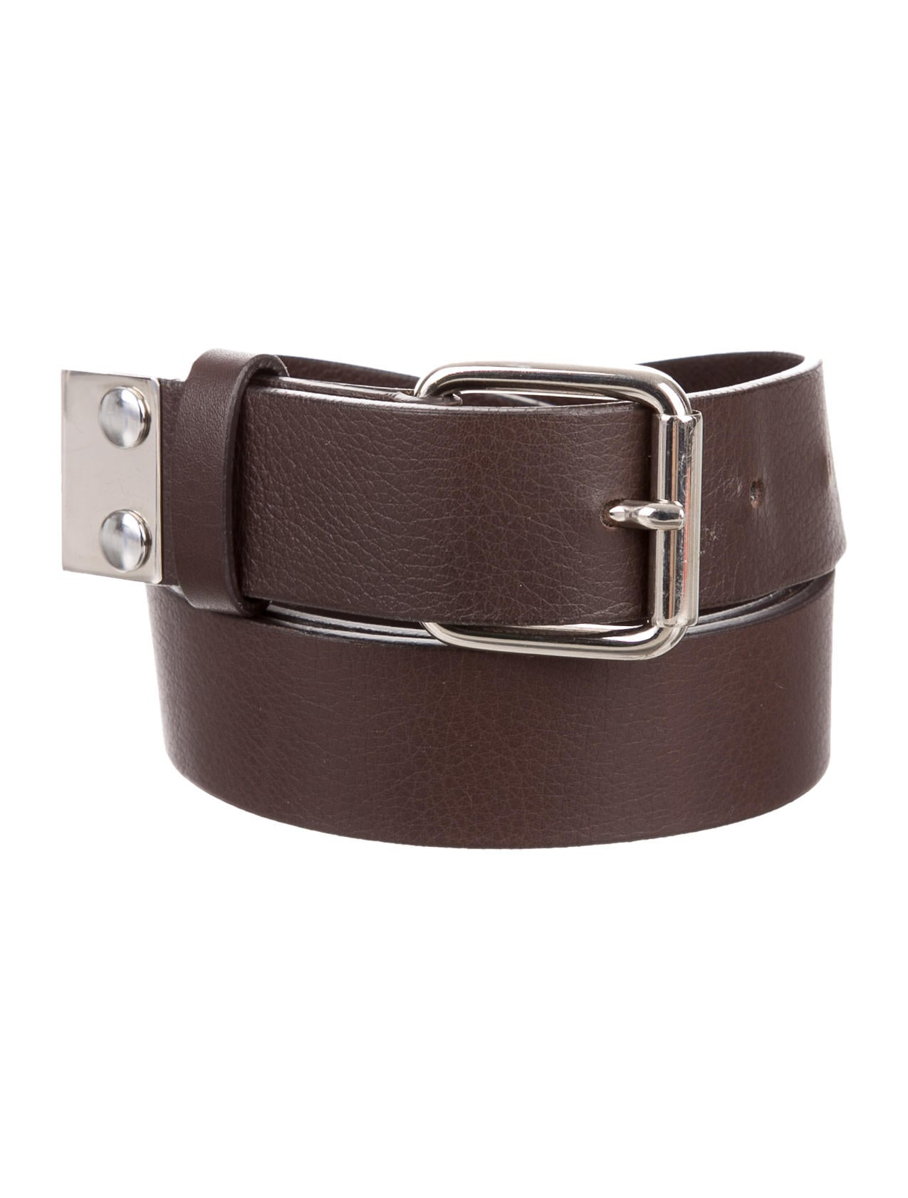 marni leather buckle belt accessories man54602 the