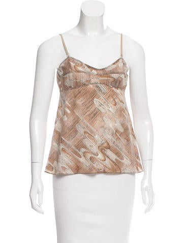 Marni Printed Sleeveless Top None