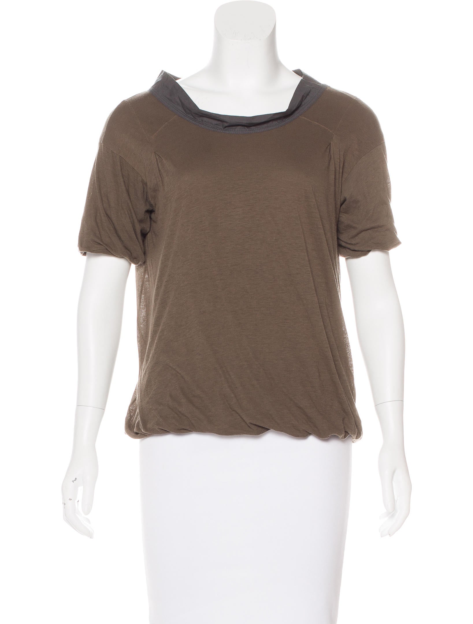 Marni scoop neck t shirt clothing man55828 the realreal for Scoop neck t shirt