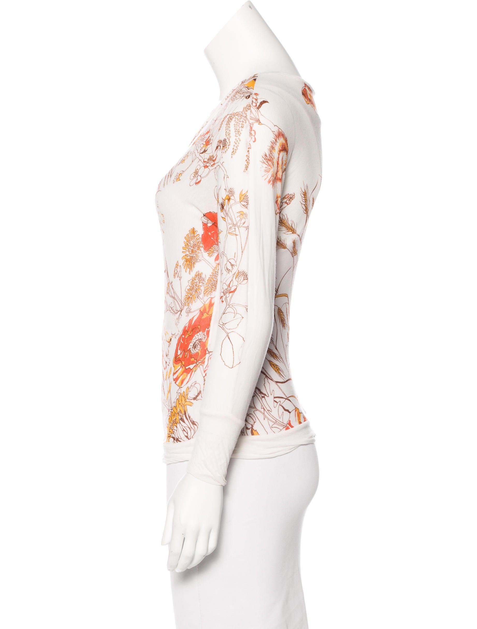 marni printed long sleeve t shirt clothing man56304