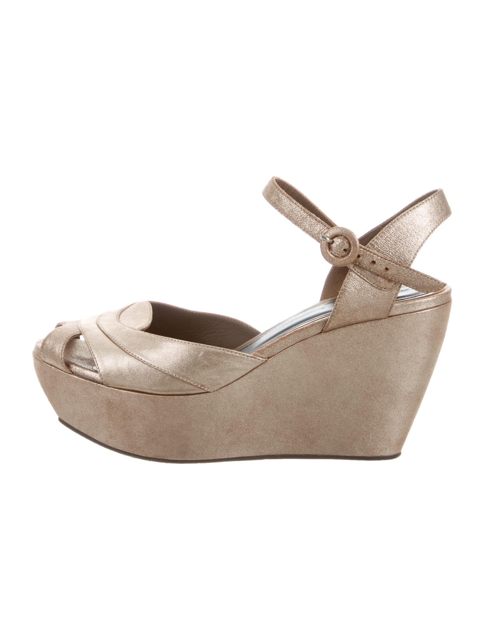 Marni Metallic Platform Sandals for sale sale online discount purchase cheap new arrival amazon online how much o2QJDVHA