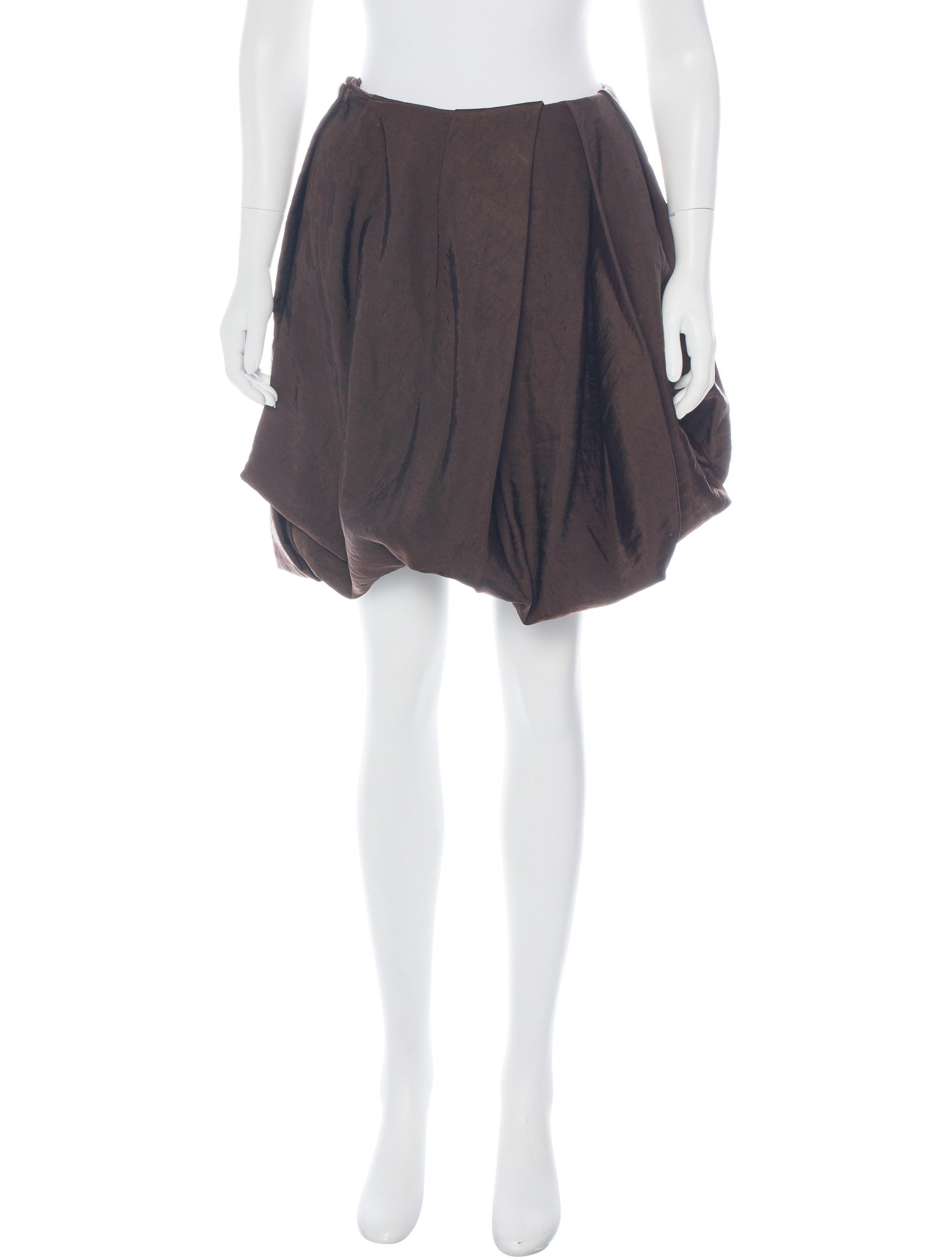 marni pleated knee length skirt clothing man56522