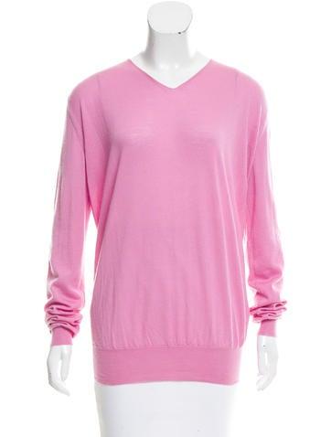 Marni Cashmere V-Neck Sweater None