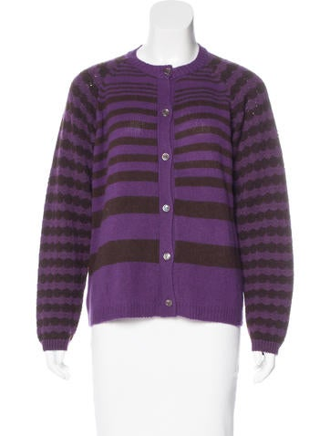 Marni Cashmere & Wool-Blend Cardigan None