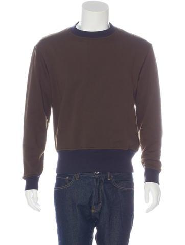 Marni Two-Tone Crew Neck Sweatshirt w/ Tags None
