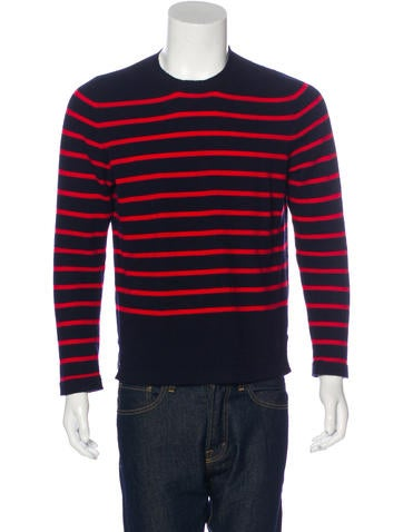 Marni Striped Cashmere Sweater None