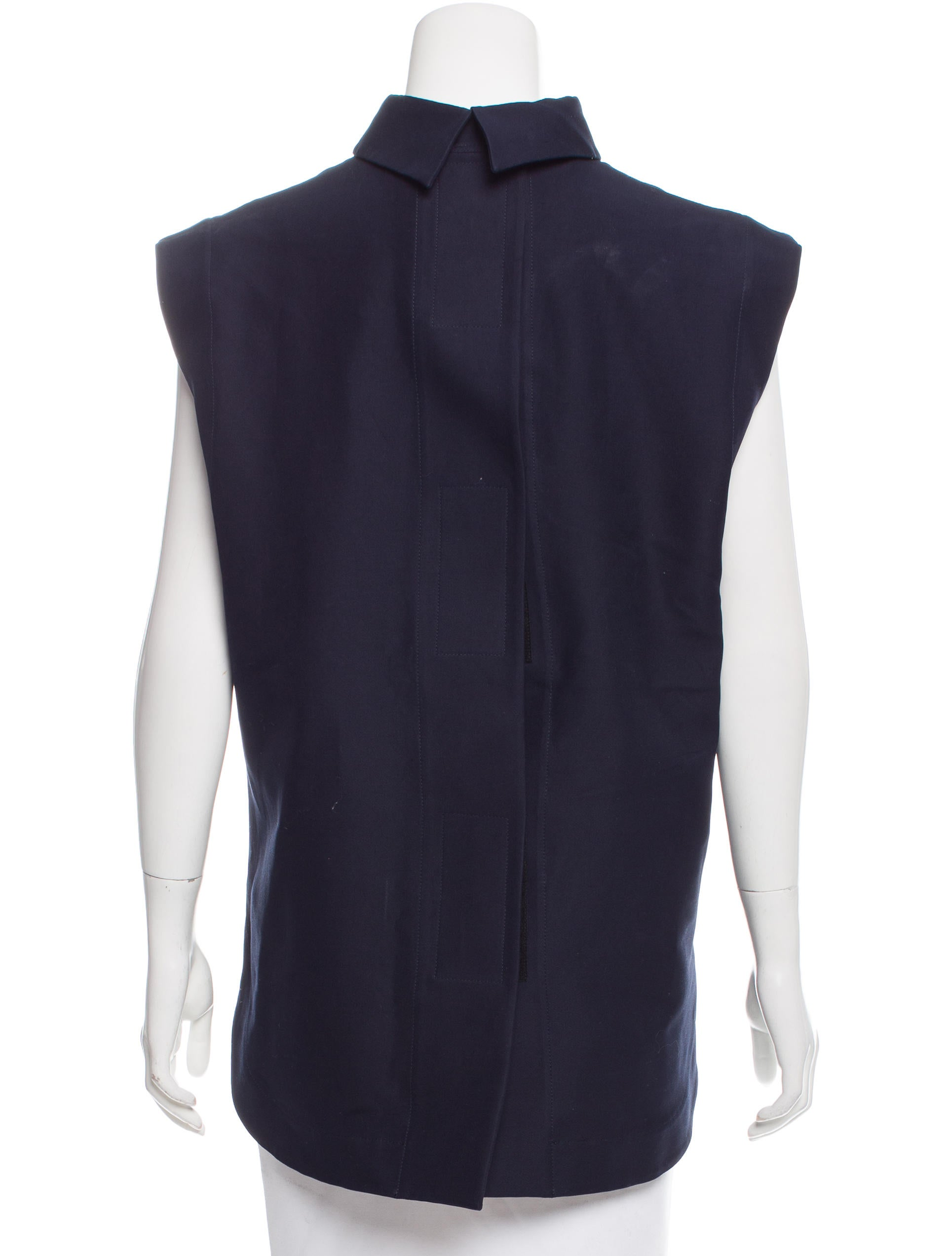 Marni sleeveless mock neck top clothing man57994 the for Sleeveless mock turtleneck shirts
