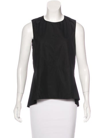 Marni High-Low Sleeveless Top None