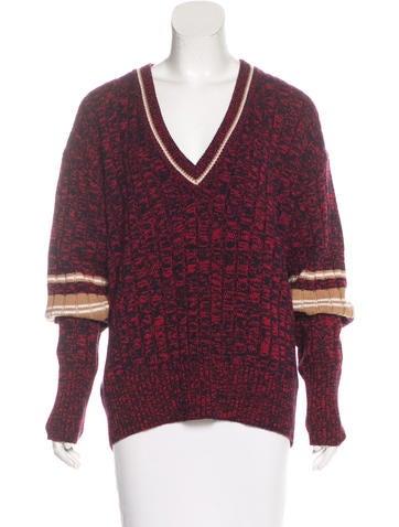 Marni Mélange Cashmere Sweater w/ Tags None