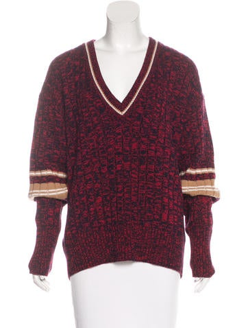 Marni Mélange Cashmere Sweater w/ Tags None