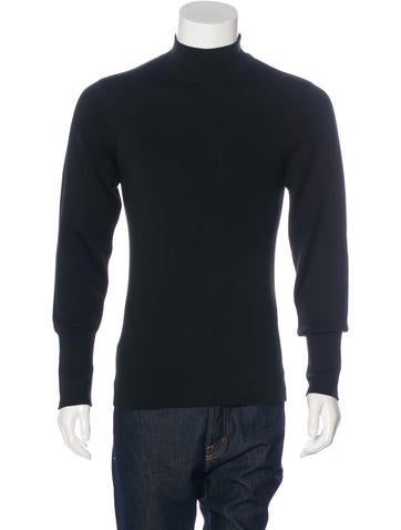 Marni Cashmere-Blend Mock Neck Sweater w/ Tags None