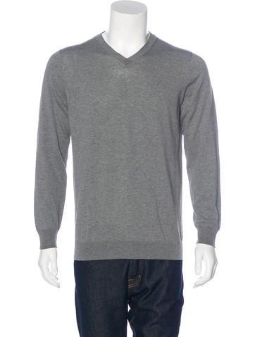 Marni Knit V-Neck Sweater w/ Tags None