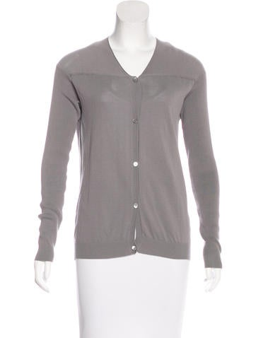 Marni Long Sleeve Button-Up Cardigan None