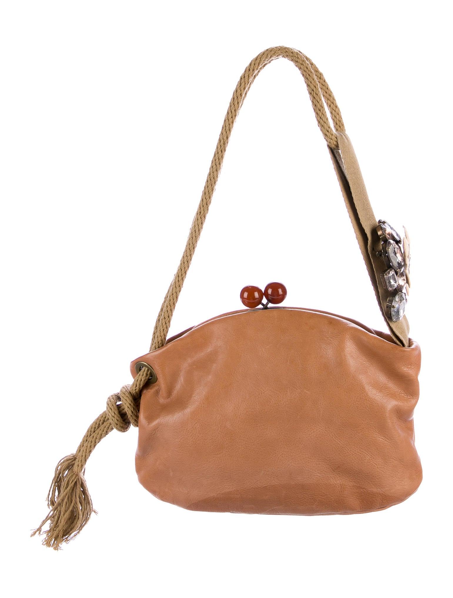 marni leather kisslock shoulder bag handbags man58981