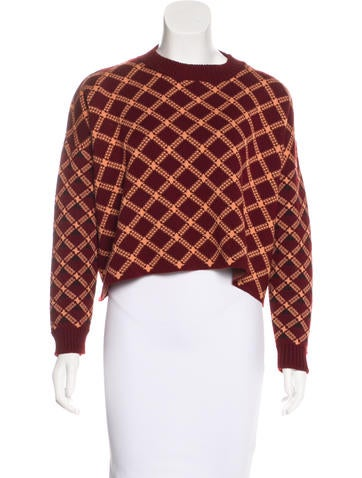 Marni Wool Cropped Sweater None
