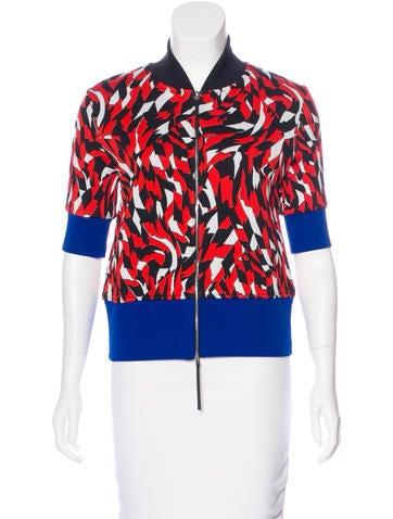 Marni Patterned Short Sleeve Jacket None