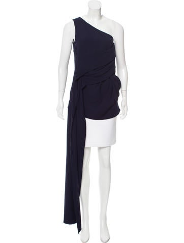 Marni Draped One-Shoulder Top None