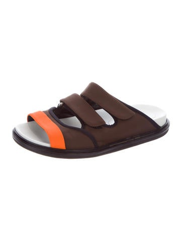marni canvas slide sandals shoes man59259 the realreal