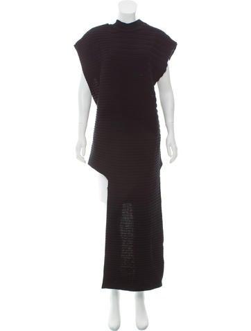 Marni Rib Knit Crossover-Back Tunic w/ Tags None