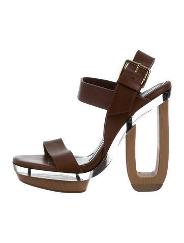 marni perspex platform sandals shoes man59559 the