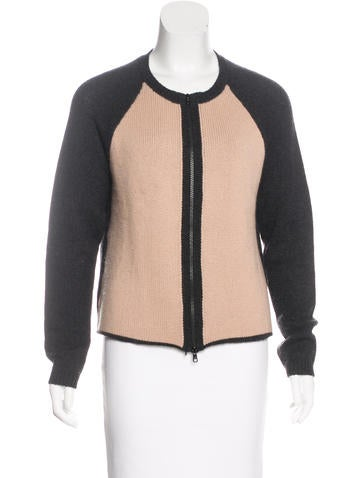 Marni Cashmere Zip-Up Cardigan None
