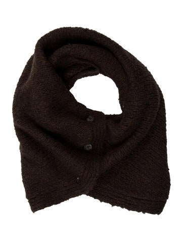 Marni Rib Knit Scarf None