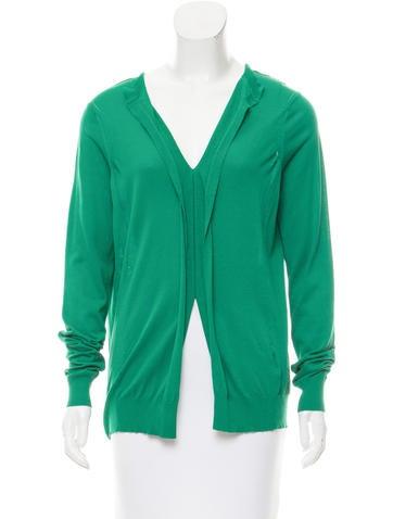 Marni Button-Up V-Neck Sweater None