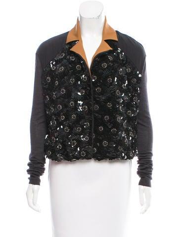 Marni Silk Embellished Top None
