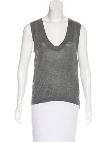 Marni Cashmere V-Neck Top None