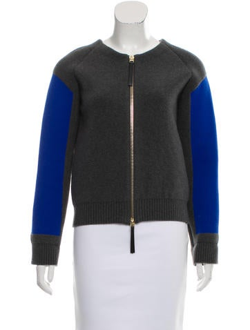 Marni Contrast Bomber Jacket w/ Tags None