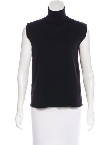 Marni Sleeveless Mock Neck Top w/ Tags None