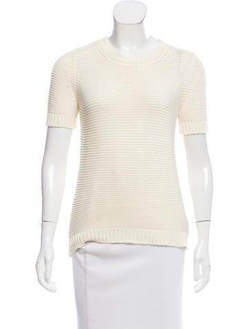 Marni Knit Short Sleeve Sweater None